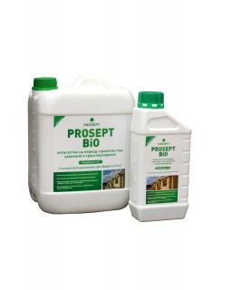 Антисептик для защиты древесины на период строительства и атмосферного хранения PROSEPT BIO (20л)